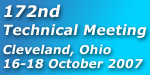 172nd Technical Meeting, Cleveland, Ohio