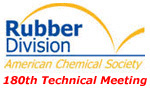 180th ACS Rubber Division Technical Meeting