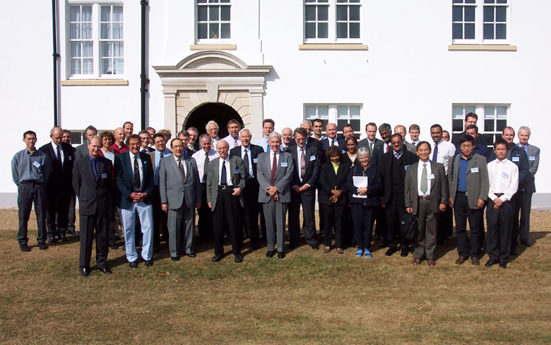 Participants of Fracture Mechanics and Elastomers seminar: 50 not out held at Bickendonbury in September 2005