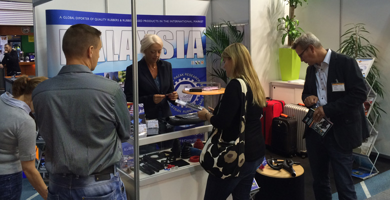 TARRC's Gail Reader at Alihankinta 2015 in Tampere, Finland