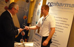 RC Pharma's David Cawthra at the Extractables & Leachables Conference 2011, Dublin