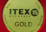 Latex-T wins gold medal in ITEX'15