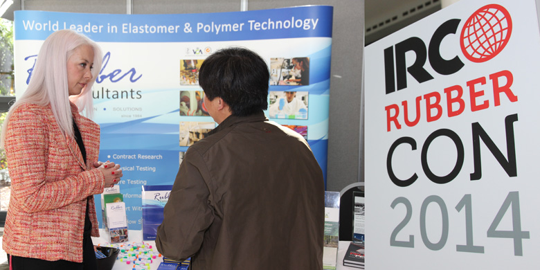 Rubber Consultants stand at RubberCon 2014