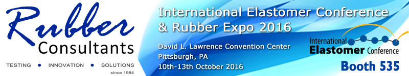 Rubber Consultants @ International Elastomer Conference & Rubber Expo 2016, Pittsburgh, PA
