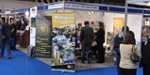 TARRC's exhibition stand in Hall 12 at the Automotive Trade Show 2005