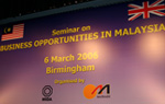 'Business Opportunities In Malaysia' Seminar