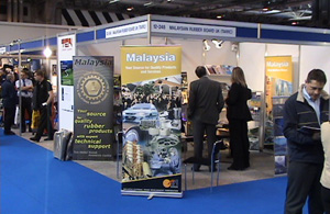 Exhibition stand at ATS 2006