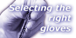 'Selecting the right gloves' seminar report