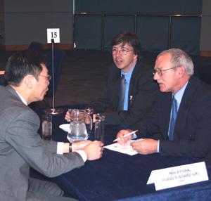 Business Meeting at ATS seminar last year